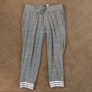 Adidas Women's Heather Grey Jogger Sweatpants